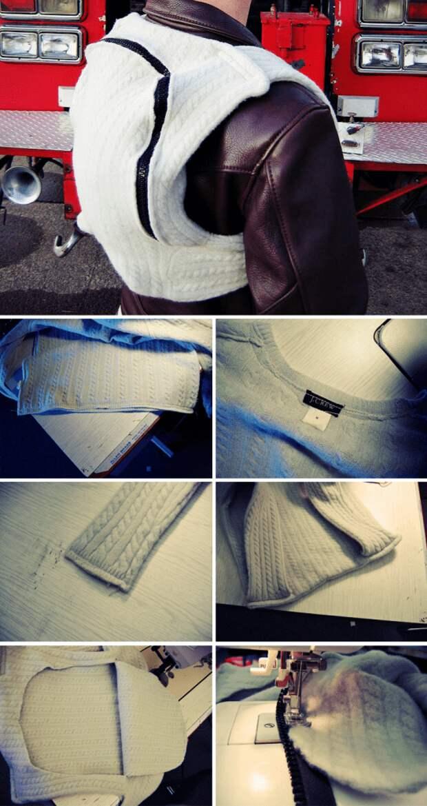 Несколько простых причин не выбрасывать на свалку старый свитер