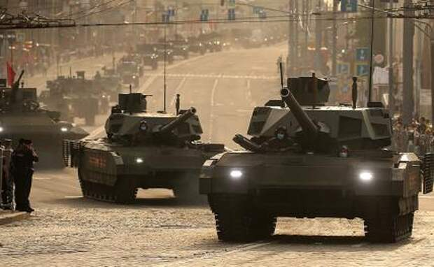 """На фото: танк Т-14 """"Армата"""""""
