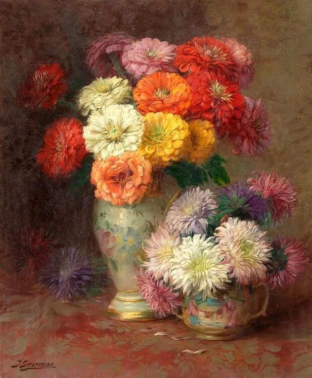 Бельгийский художник Julien Stappers (1875-1960)