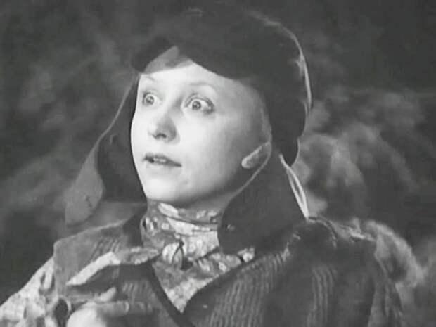Янина Жеймо, кадр из фильма «Боевой киносборник №12. Ванька», 1942 год. / Фото: www.kino-teatr.ru
