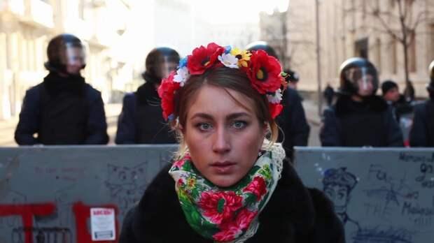 Киевлянка рассказала, что в ее городе думают о «белорусском Майдане»