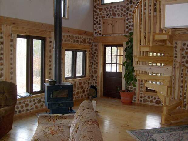 Красивое и современное жилье, которое будет органично смотреться в сельской местности.