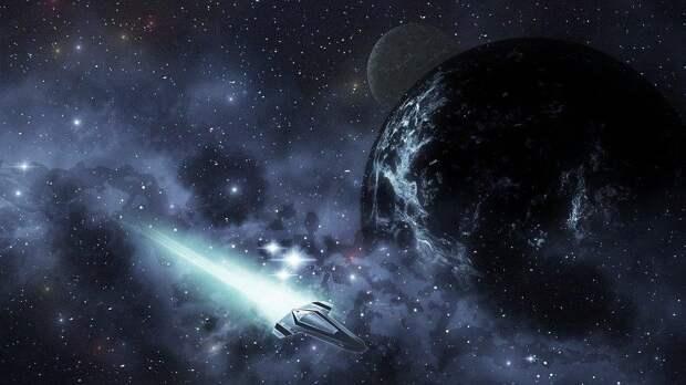 Ученые NASA рассказали о проблемах при космических путешествиях почти со скоростью света