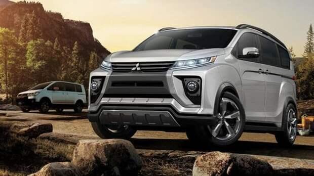 Новая Mitsubishi Delica – идеальный минивэн для России