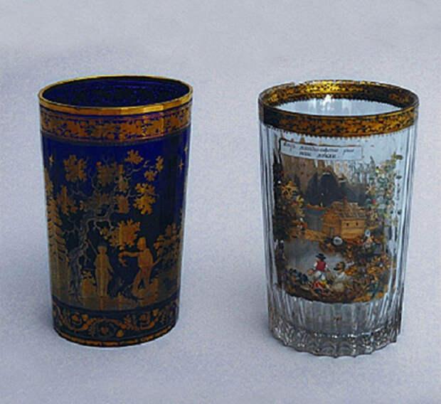 Знаменитые стаканы крепостного Вершинина, секрет которых не разгадали за 200 лет