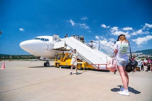 В аэропорту Геленджика увеличат количество рейсов