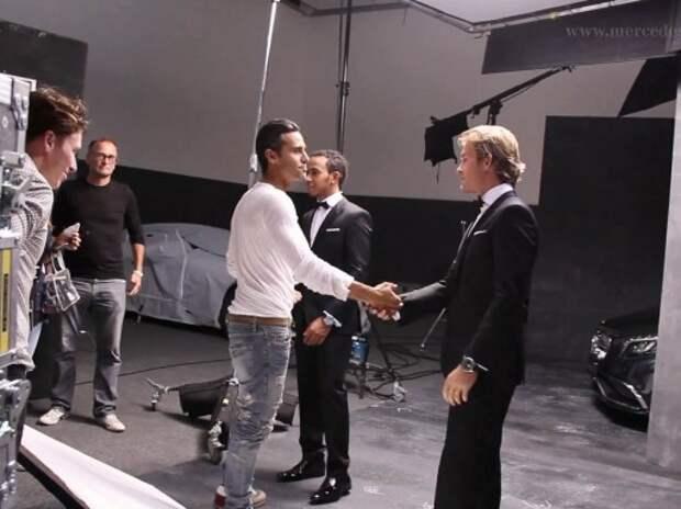Hugo Boss стал официальным партнером Mercedes AMG (ВИДЕО)