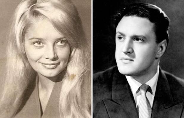 Юрий Чулюкин и его первая жена Наталья Кустинская | Фото: kino-teatr.ru