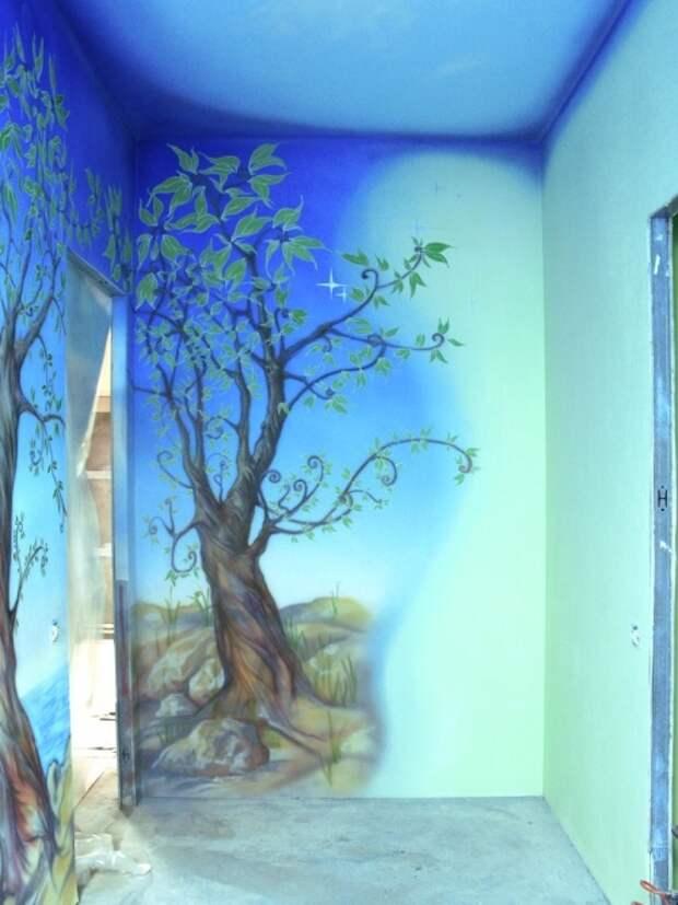 Как покрасить стены акриловой краской