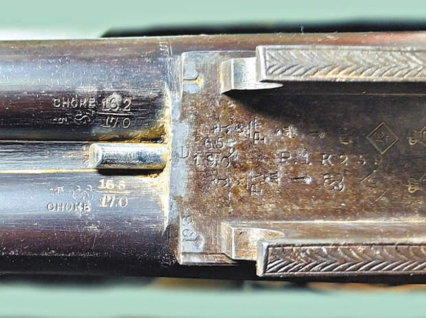 Бельгийская курковка Scholberg Record для германской фирмы H.Burgsmüller & Söhne