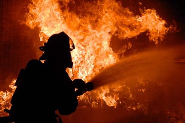 Пожарные в Удмуртии спасли из загоревшегося дома двух пожилых женщин и двух детей