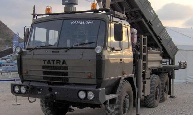 Чехия приобрела партию комплексов ПВО Spyder у Израиля