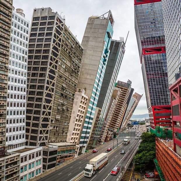 7. Какой ветреный день! Томми Фанг, гонконг, забавно, талант, фантазия, фото, фотошоп, художник