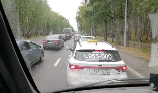 На трассе Тюмень – Екатеринбург на 3 часа ввели реверсивное движение из-за ДТП