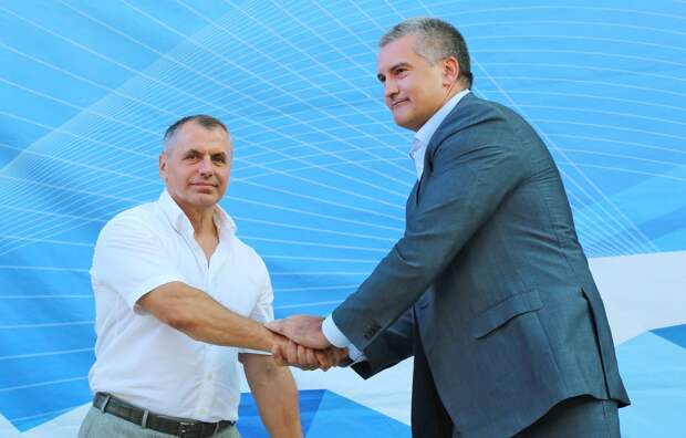 Глава Крыма поздравил Константинова с днём рождения