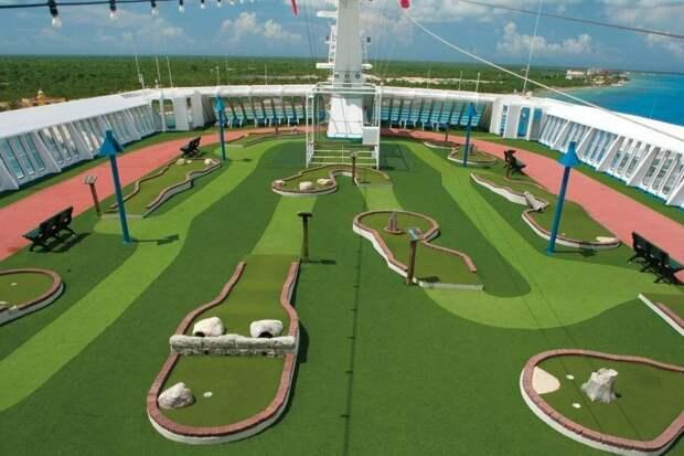 Бизнес идея: Мини-гольф площадка