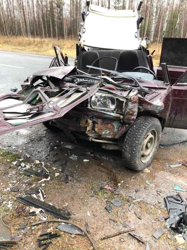 19-летняя девушка погибла в ДТП на трассе в Удмуртии