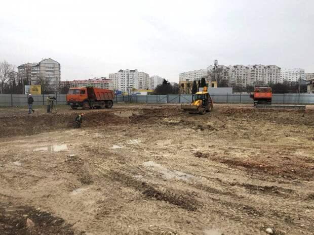 В Севастополе начали строить новый детсад на 220 мест