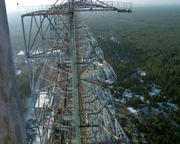 Антенные решетки на станции Чернобыль-2.