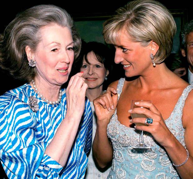 Рейн Спенсер и принцесса Диана. / Фото: www.bowenpress.com
