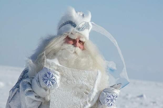 Байкальский Дед Мороз и Снегурочка)
