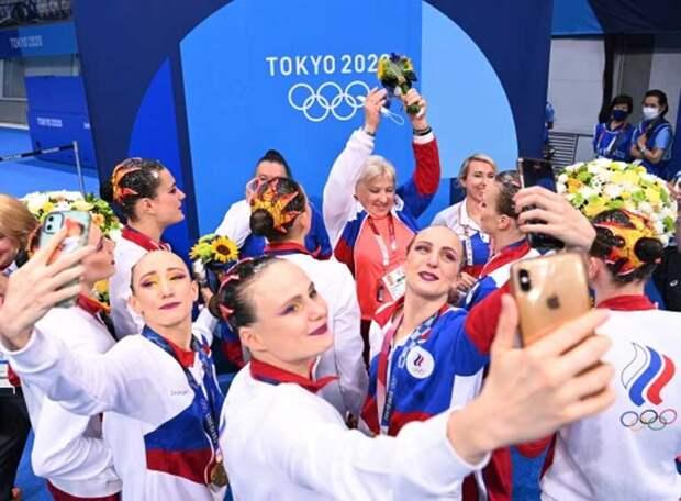 Это просто космос! С новой программой «Парад планет» российские синхронистки выиграли очередное олимпийское «золото». Для Светланы Ромашиной - седьмое!