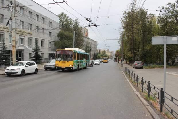 В Ижевске закончился ремонт улицы Советской