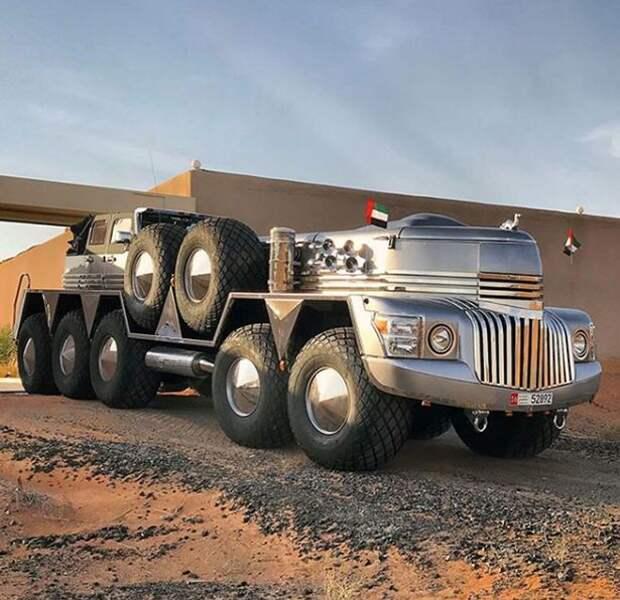 Монстр пустыни: дубайский шейх создал царский внедорожник
