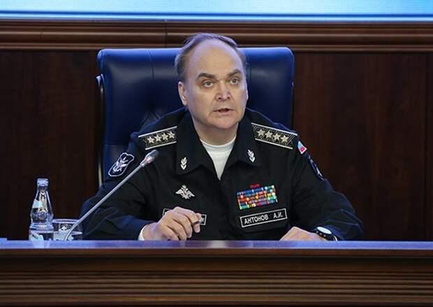 Выступление Антонова в СФ