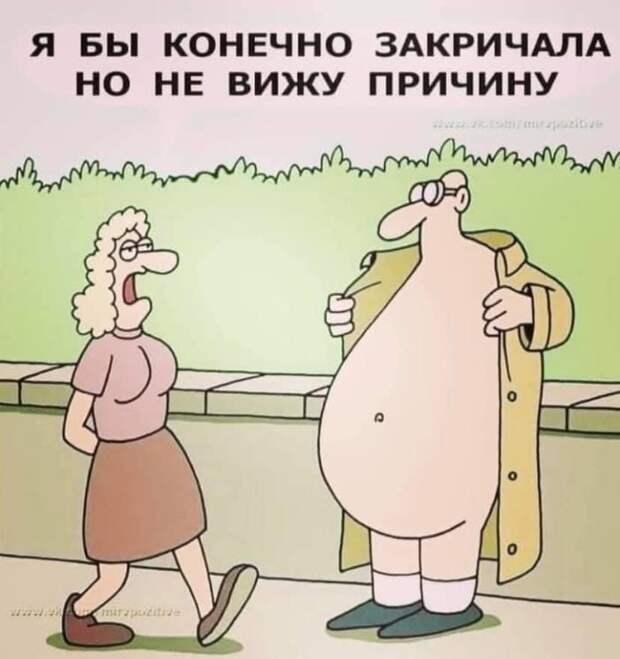 - Почему ты такой толстый?  - Потому что завтрак ем сам...