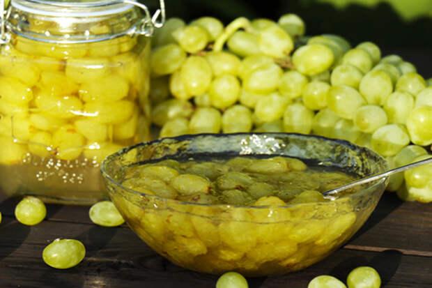 Вкусное варенье из винограда кишмиш за 3 минуты