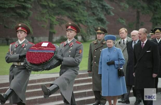 Королева Великобритании Елизавета II и принц Филипп в России, 1994 год