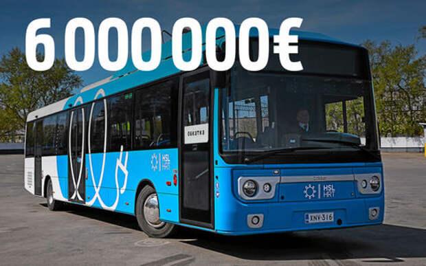 Москва хочет закупить электробусы - тестируем претендента из Финляндии