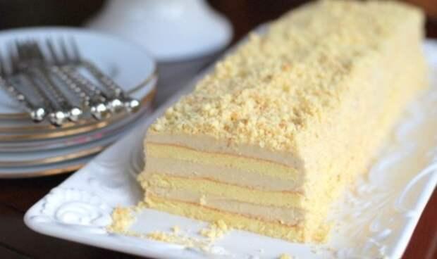 Рецепт прекрасного торта с необычным и вкусным кремом