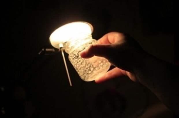 банки светильники своими руками