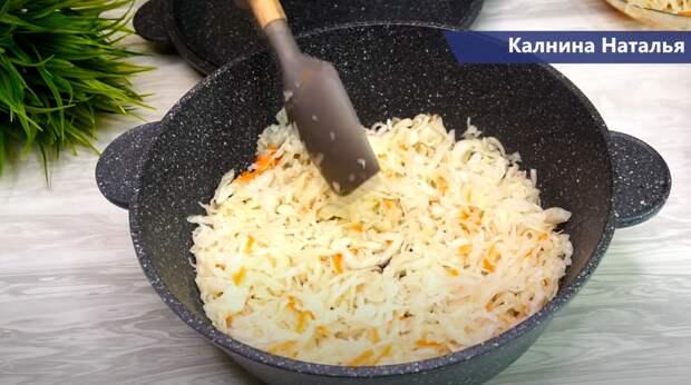 Тефтели с капустой (идея для обеда или ужина)