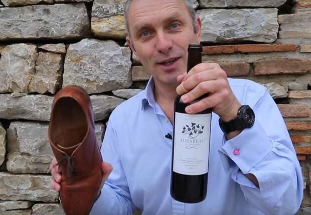 Простой способ открыть бутылку вина без штопора.
