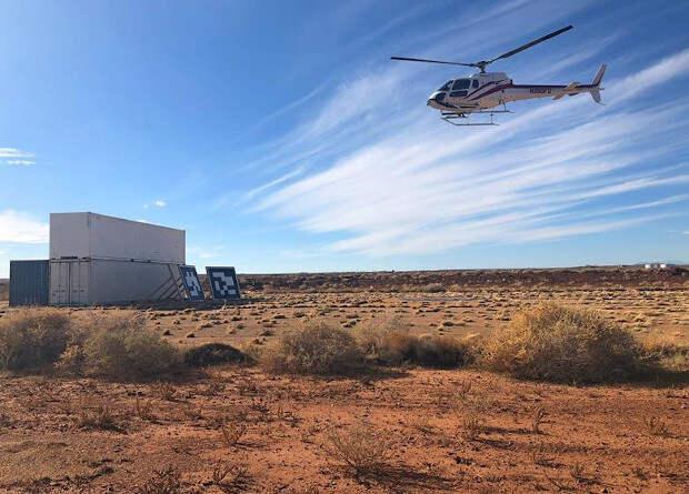 Начались испытания системы автоматической посадки для аэротакси