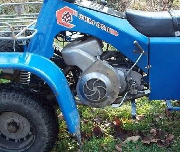 ЗИМ-350. Малоизвестный украинский квадроцикл