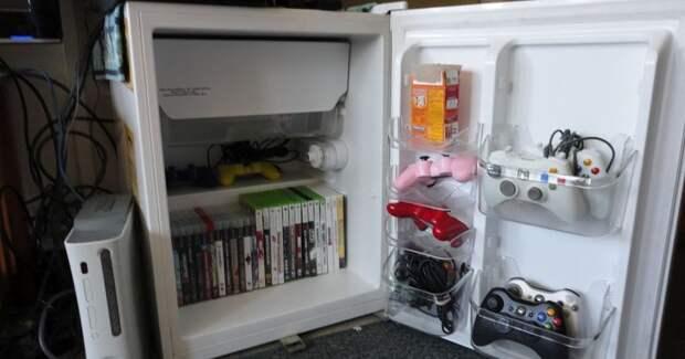 1. Основная функция холодильника, пусть и не работающего, это хранение Фабрика идей, дизайн, интересно, места для хранения, полезно, фото