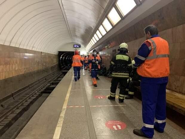 Мужчина погиб на станции метро «Дмитровская»
