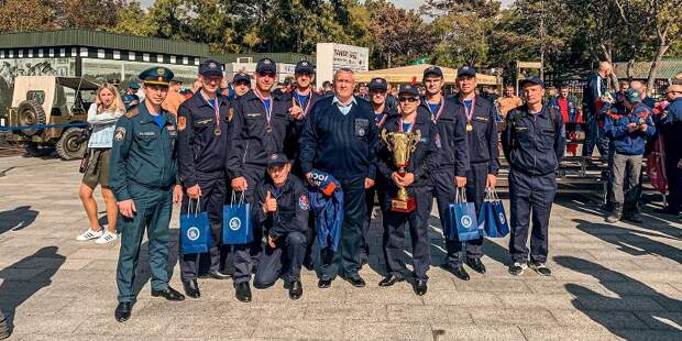 Сборная Москвы стала лучшей на чемпионате по многоборью среди спасателей
