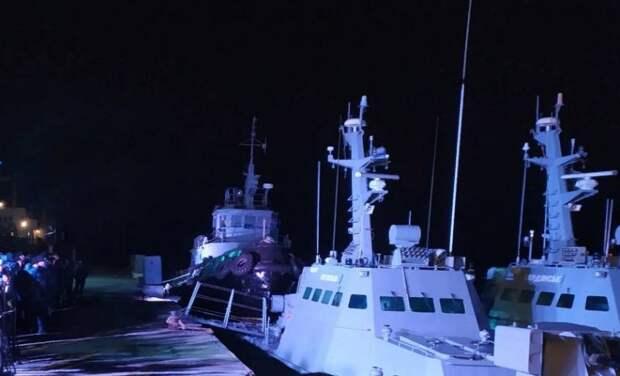Стало известно, почему Зеленский затемно инспектировал возвращённые Россией катера и буксир