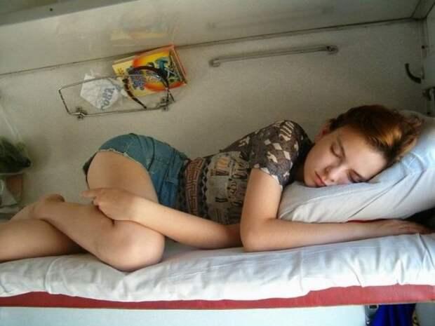 Девушки в российских поездах (17 фото) » Триникси