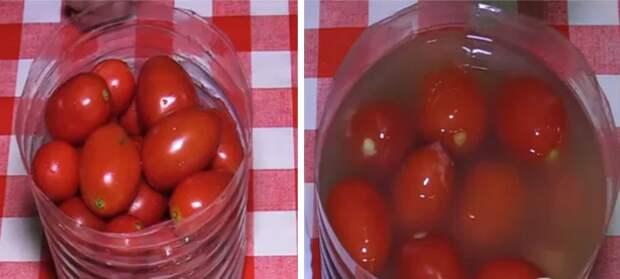 Рецепт ядреных помидорчиков с горчицей. По вкусу, как из бочки!