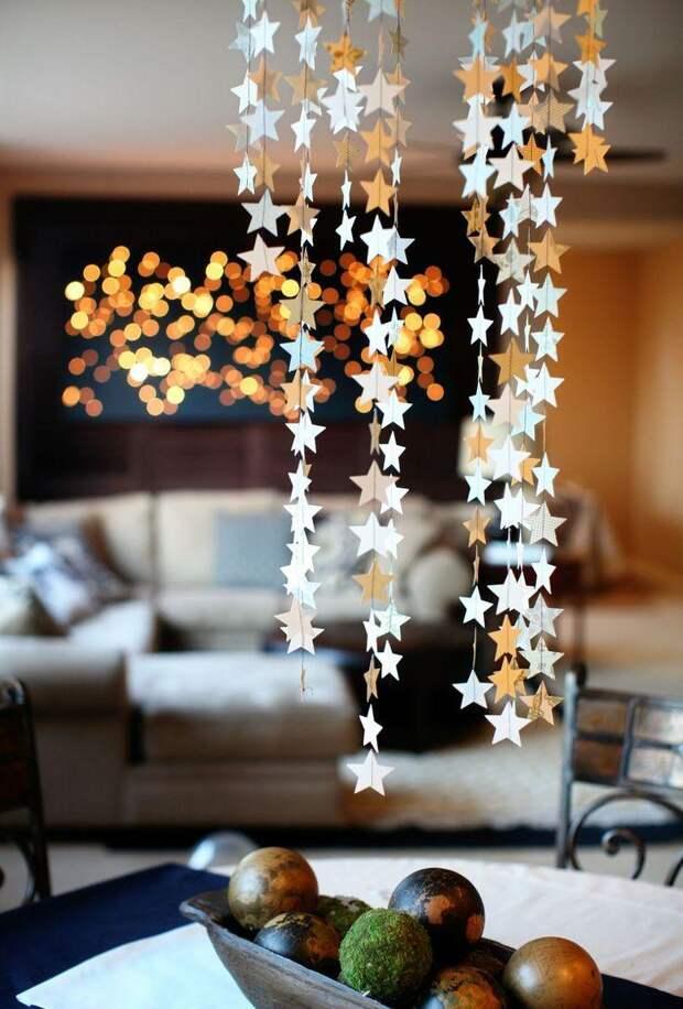 Новогодний интерьер: волшебство в деталях (60 фото)