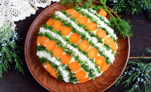 Украшение салатов на Новый 2021 год: как украсить, самые лучшие идеи44