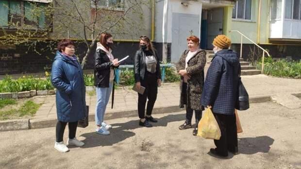 Керчане адресуют обращения заместителям главы администрации в ходе выездных встреч