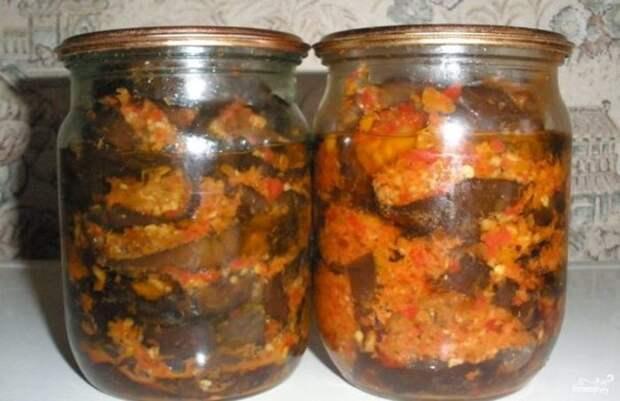 Самые вкусные баклажаны на зиму в потрясающем соусе