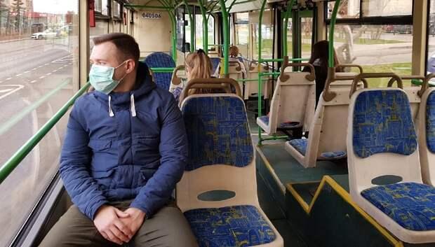 Количество пассажиров в автобусах Подмосковья сократилось на 79%